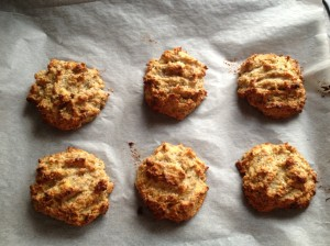 Liz Brant's Banana Coconut Cookies