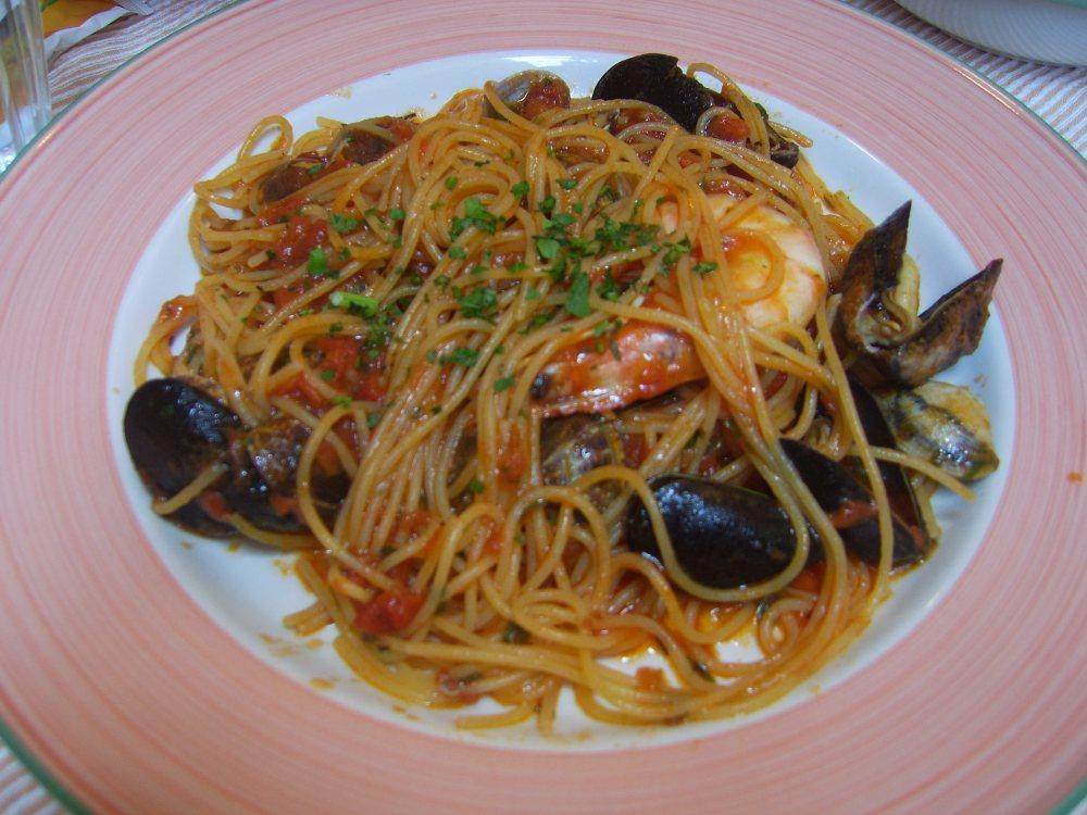 Spaghetti Marinara Cinque Terre, Italy