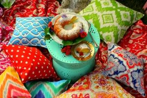 Colourful cushions 2