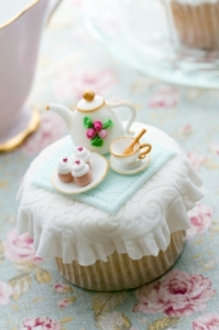 Compressed Cupcake tea party